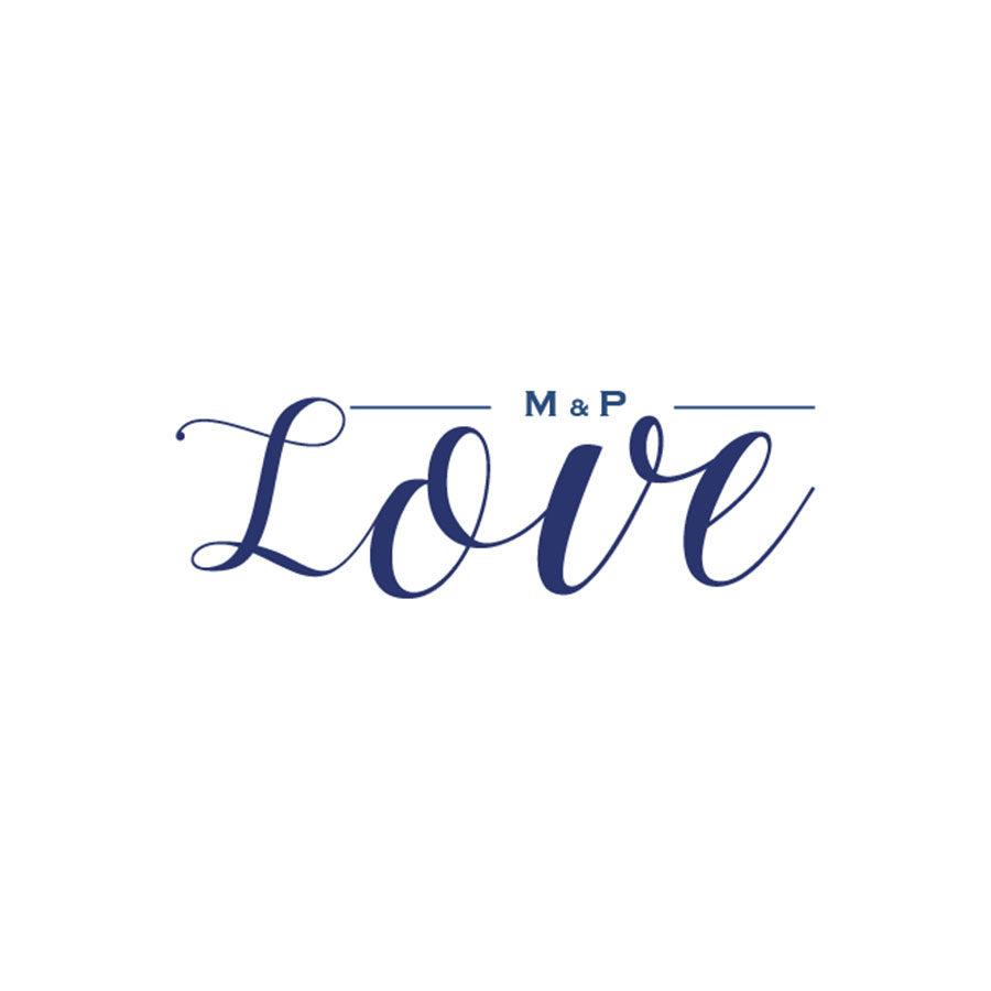 IDENTITÉ VISUELLE MARIAGE – MAT & PAM